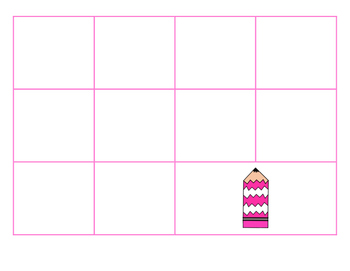 File Folder Activity Sequence to 100 by 10's (Pink)