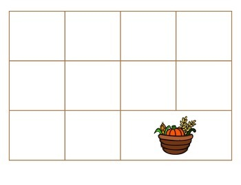 File Folder Activity Sequence to 100 by 10's (Thanksgiving Theme)
