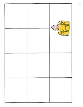 File Folder Activity Sequence to 100 by 10's (Black, Beach Theme)
