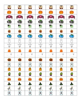 File Folder Activity Show Quantity to Given Numeral 11-20 (Halloween Theme)
