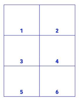 File Folder Activity Show Quantity to Given Numeral (Patri