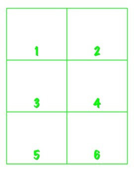 File Folder Activity Show Quantity to Given Numeral (Shamrock Theme)