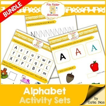 Alphabet BUNDLE - File Folders