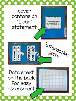 File Folder Assessments BUNDLE