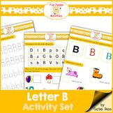 Letter B - File Folders