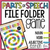 Parts of Speech Game - Noun, Verb and Adjective