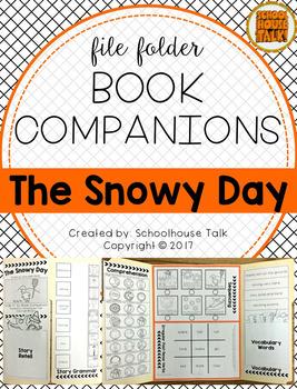 File Folder Book Companion: The Snowy Day