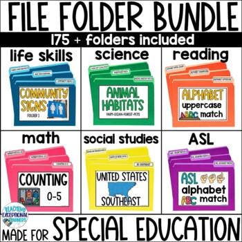 SPED File Folder BUNDLE