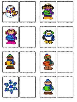 File Folder Bundle-Winter Theme