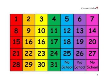 File Folder Calendar