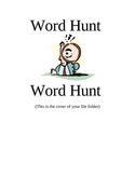 File Folder Center - Word Wall Hunt by Teacher all the Time