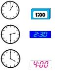 File Folder Clock Game