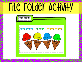File Folder- Color Match