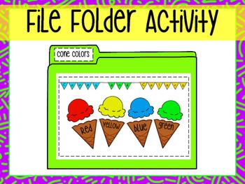 File Folder- Color Match
