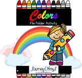 File Folder Activity - Colors