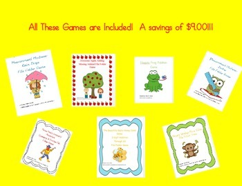 File Folder Common Core Game Bundle