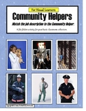 File Folder Community Helpers {Autism and Special Education}