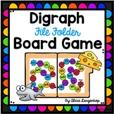 File Folder Digraph Board Game