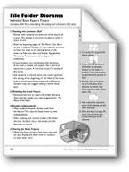 File Folder Diorama (Book Project)