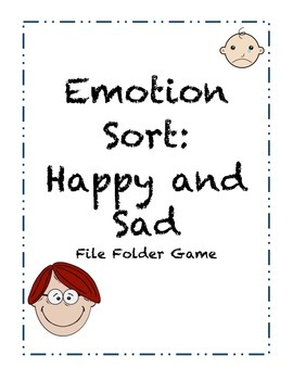 File Folder Emotion Sort