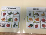 File Folder- Fruits and vegetable Sort