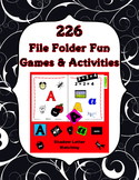 File Folder Fun ~ The Complete Set ~ 226 Activities, Games