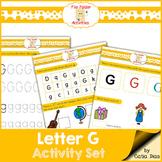 Letter G - File Folders