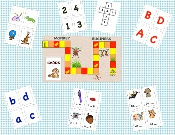 Word Work & Math Workshop  Bundle #'S-Letters-Vowels-Beginning/Ending sounds.