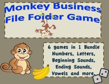 Word Work & Math Workshop  Bundle #'S-Letters-Vowels-Begin