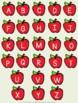 File Folder Game- Apple Letter Match Upper to Lower Case