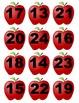 File Folder Game: Apple Number Matching