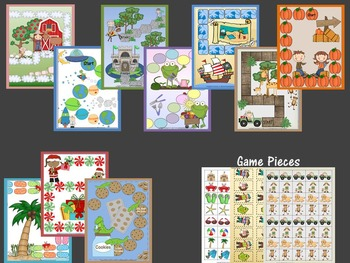 File Folder Board Games