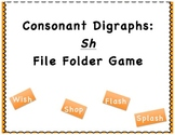 File Folder Game: Consonant Digraphs: SH Words