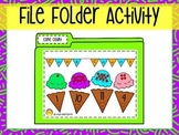 Counting File Folder Activity