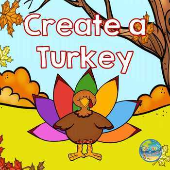 File Folder Game--Create a Turkey