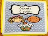 File Folder Game - Cupcake Creation