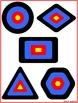 File Folder Game Free Shapes Paintball Math Center Kindergarten Preschool