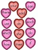 File Folder Game (Fry Sight Words 26-50 Matching Hearts)