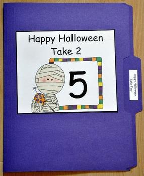 File Folder Game:  Halloween Take Two