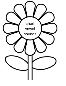 File Folder Game- Long and Short all vowel sounds