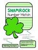 File Folder Game--Matching Shamrock Numbers