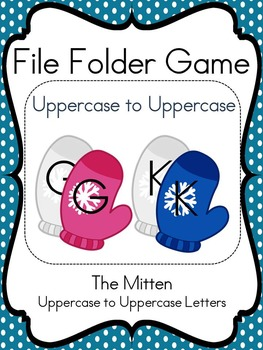 File Folder Game (Mitten Match, Upper to Upper)