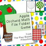 Apples: Orchard Math File Folder Game