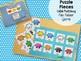 File Folder Game: Rainbow Puzzle Pieces FREEBIE