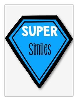 Similes and Metaphors (File Folder Game)