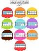 File Folder Game (Ten Frame Ice Cream)