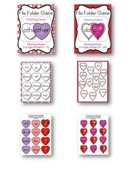 File Folder Game Valentine's Day Pack