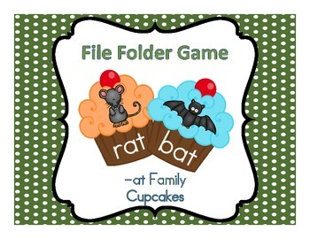 File Folder Game (-at Family Cupcakes)