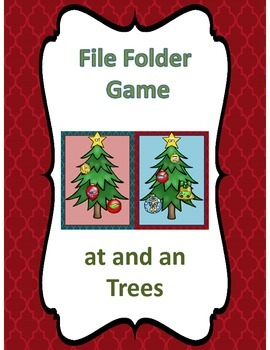 File Folder Game (at and an Family Christmas Trees)