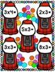 File Folder Game: oh great, Gumball! Multiplication 3 Facts